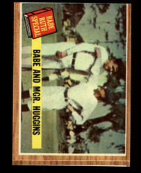 1962 BABE RUTH SPECIAL TOPPS #137 GREEN TINT EXMT/NM  #4626