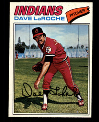 1977 DAVE LAROCHE OPC #61 O PEE CHEE INDIANS NM #4449
