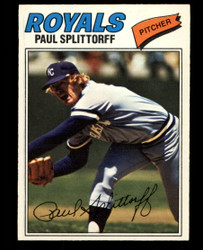 1977 PAUL SPLITTORFF OPC #41 O PEE CHEE ROYALS NM #4494