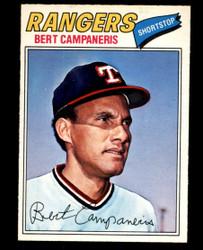 1977 BERT CAMPANERIS OPC #74 O PEE CHEE RANGERS NM #4883