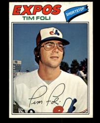 1977 TIM FOLI OPC #162 O PEE CHEE EXPOS NM #1030