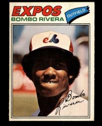 1977 BOMBO RIVERA OPC #54 O PEE CHEE EXPOS NM #4584