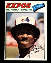 1977 BOMBO RIVERA OPC #54 O PEE CHEE EXPOS NM #1021