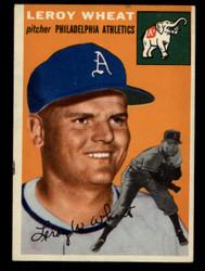1954 LEROY WHEAT TOPPS #244 ATHLETICS EX #3551