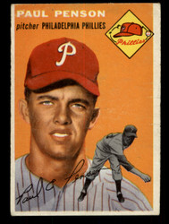 1954 PAUL PENSON TOPPS #236 PHILLIES VG #2046