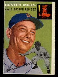 1954 BUSTER MILLS TOPPS #227 REDSOX EXMT/NM #2117
