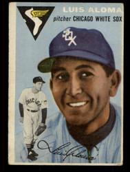 1954 LUIS ALOMA TOPPS #57 WHITESOX VG #4588