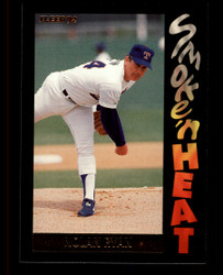 1992 NOLAN RYAN FLEER #5 SMOKE 'N HEAT RANGERS #4716