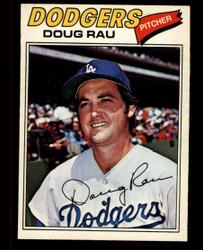 1977 DOUG RAU OPC #128 O PEE CHEE DODGERS NM #4746