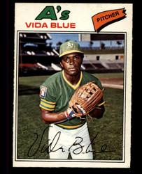 1977 VIDA BLUE OPC #75 O PEE CHEE ATHLETICS NM #3629