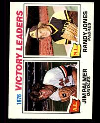 1977 VICTORY LEADERS OPC #5 O PEE CHEE JIM PLAMER RANDY JONES NM #4759