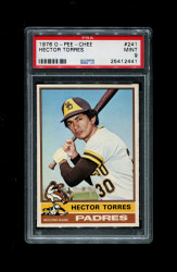 1976 HECTOR TORRES OPC #241 O PEE CHEE PADRES PSA 9