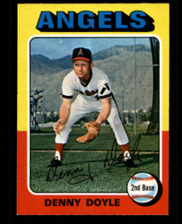 1975 DENNY DOYLE OPC #187 O PEE CHEE ANGELS NM #4431