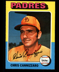 1975 CHRIS CANNIZZARO OPC #355 O PEE CHEE PADRES NM #3453