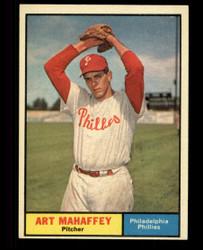 1961 ART MAHAFFEY TOPPS #433 PHILLIES EXMT #1716