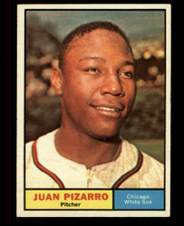 1961 JUAN PIZARRO TOPPS #227 WHITESOX EXMT #4902