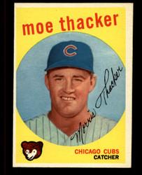 1959 MOE THACKER TOPPS #474 CUBS EXMT #4815