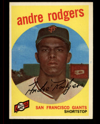 1959 ANDRE RODGERS TOPPS #216 GIANTS EXMT #3599