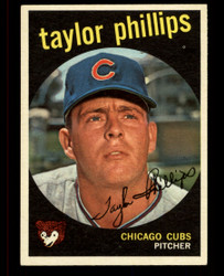 1959 TAYLOR PHILLIPS TOPPS #113 CUBS EXMT #4856