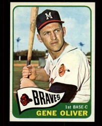 1965 GENE OLIVER TOPPS #106 BRAVES NM #4928
