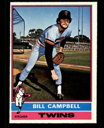 1976 BILL CAMPBELL OPC #288 O PEE CHEE TWINS NM #4333