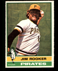 1976 JIM ROOKER OPC #243 O PEE CHEE PIRATES NM #2229