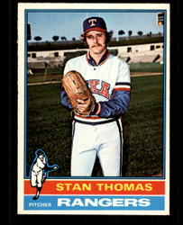 1976 STAN THOMAS OPC #148 O PEE CHEE RANGERS NM #4765