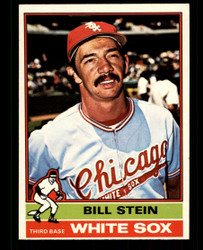 1976 BILL STEIN OPC #131 O PEE CHEE WHITE SOX NM #4352