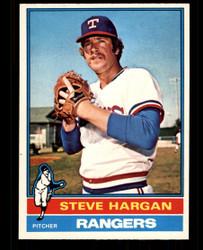 1976 STEVE HARGAN OPC #463 O PEE CHEE RANGERS NM #4402