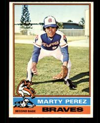 1976 MARTY PEREZ OPC #177 O PEE CHEE BRAVES NM #4947