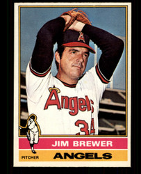 1976 JIM BREWER OPC #459 O PEE CHEE ANGELS NM #4943