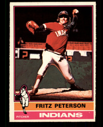 1976 FRITZ PETERSON OPC #255 O PEE CHEE INDIANS NM #4971
