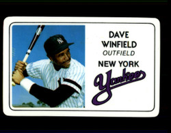 1981 DAVE WINFIELD PERMA GRAPHICS YANKEES #2419