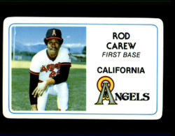 1981 ROD CAREW PERMA GRAPHICS ANGELS #2400