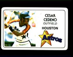 1981 CESAR CEDENO PERMA GRAPHICS ASTROS #3870