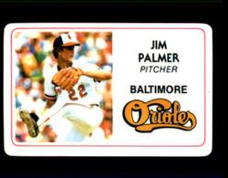 1981 JIM PALMER PERMA GRAPHICS ORIOLES #2724