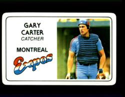 1981 GARY CARTER PERMA GRAPHICS EXPOS #2741