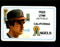 1981 FRED LYNN PERMA GRAPHICS ANGELS #1602