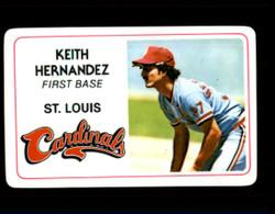 1981 KEITH HERNANDEZ PERMA GRAPHICS CARDINALS #4994