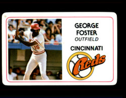 1981 GEORGE FOSTER PERMA GRAPHICS REDS #4991