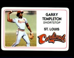 1981 GARRY TEMPLETON PERMA GRAPHICS CARDINALS #2384