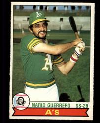 1979 MARIO GUERRERO OPC #131 ATHLETICS O PEE CHEE #4995