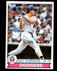 1979 GARY THOMASSON OPC #202 DODGERS O PEE CHEE #4998