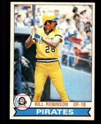 1979 BILL ROBINSON OPC #336 PIRATES O PEE CHEE #5024