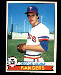 1979 GEORGE MEDICH OPC #347 RANGERS O PEE CHEE #5027