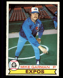 1979 MIKE GARMAN OPC #88 EXPOS O PEE CHEE #5044
