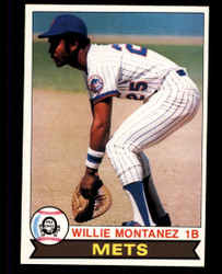 1979 WILLIE MONTANEZ OPC #153 METS O PEE CHEE #5054