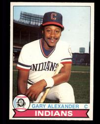 1979 GARY ALEXANDER OPC #168 INDIANS O PEE CHEE #5062