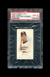 2006 MIKE PIAZZA  TOPPS ALLEN GINTER MINI NNO NO NUMBER #/50 PSA 10