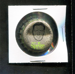 1964 ANDY BATHGATE SPRITE BOTTLE CAP W/CORK MAPLE LEAFS *R1714